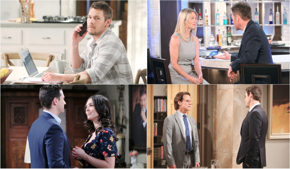 7-29-19 spoilers for bold and beautiful days of our lives general hospital young and restless