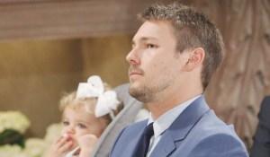 Liam suspicious wedding Bold and Beautiful