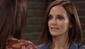 Liz questions Hayden on General Hospital