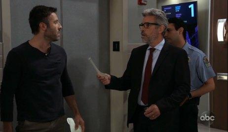 Mac arrests Shiloh on General Hospital