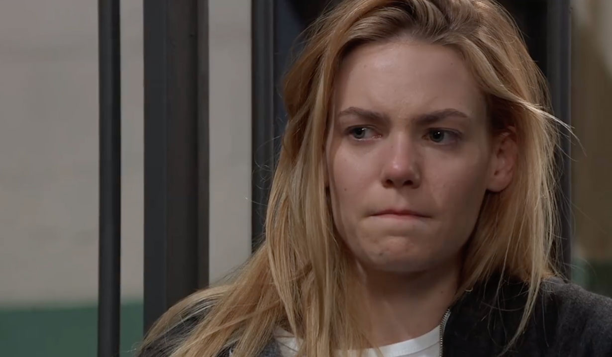 Nelle in jail on General Hospital