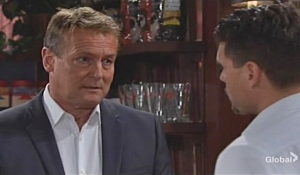 Nick corners Paul on Young and Restless