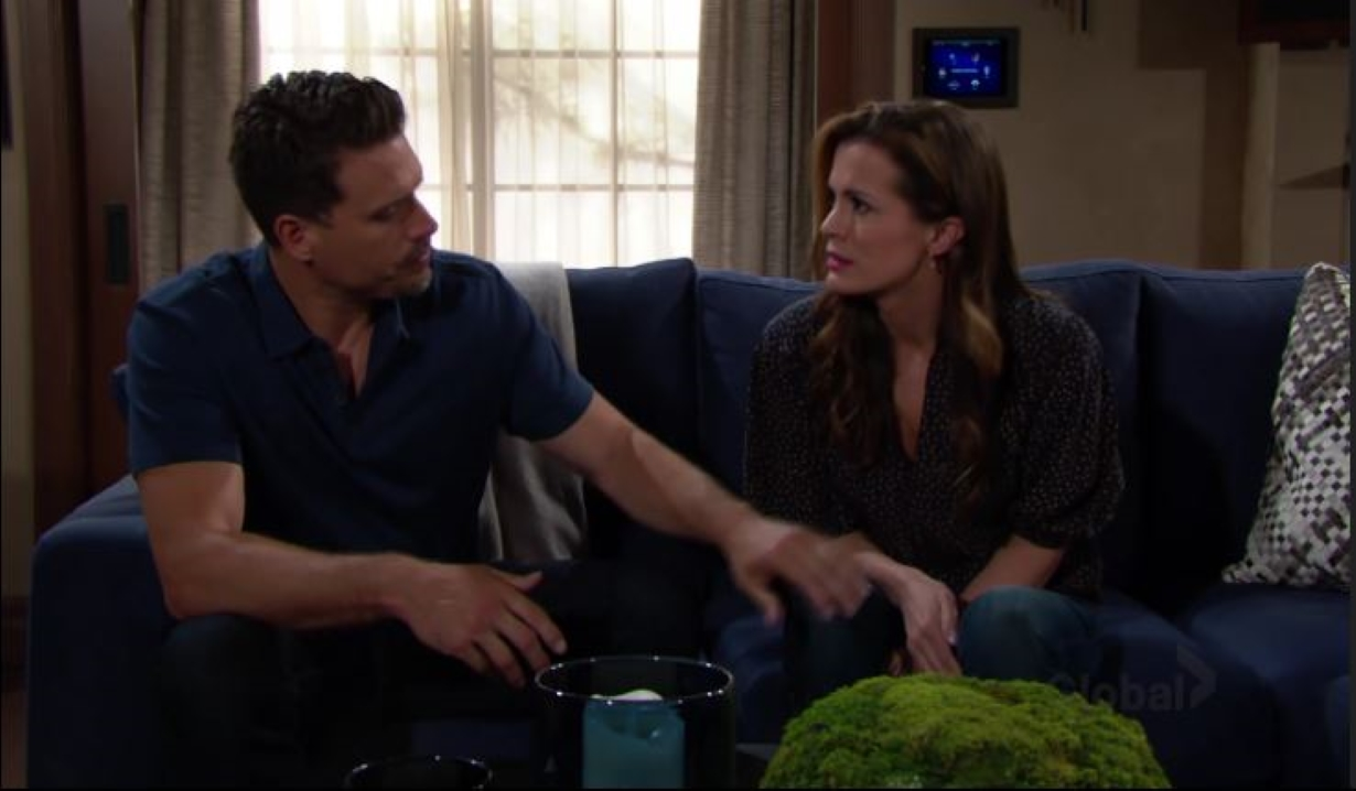 Nick reassures Chelsea Young and the Restless