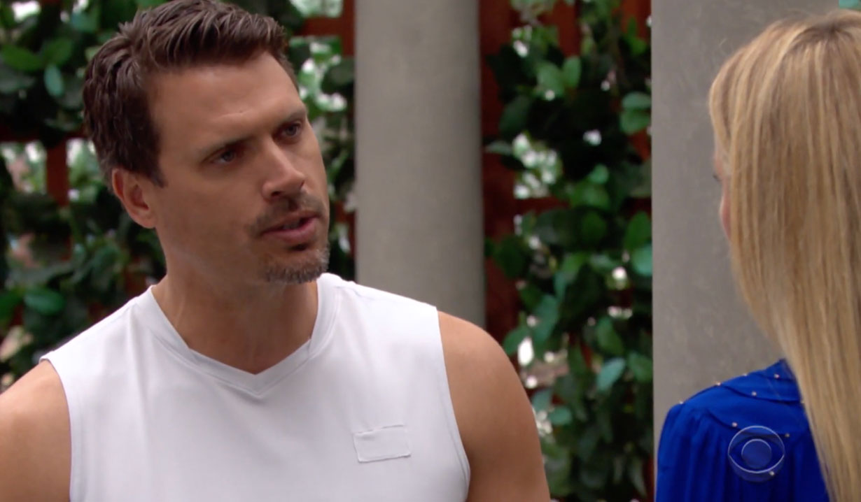 Nick warns Sharon on The Young and the Restless