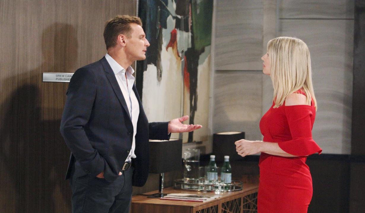 Nina and Jax argue about Ava General Hospital