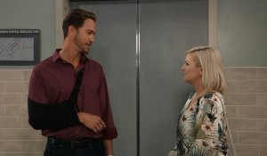Peter and Maxie at General Hospital