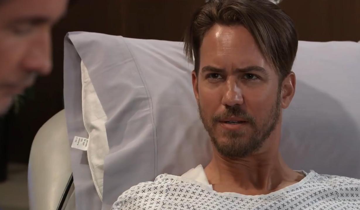 Peter swears Finn to secrecy General Hospital