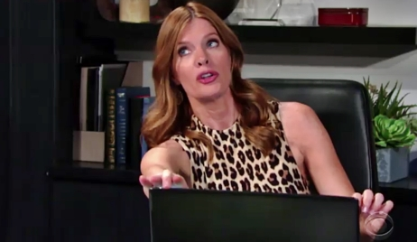 Phyllis spars with Victoria on Young and Restless