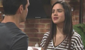 Rey fills in Lola about their dad Young and the Restless