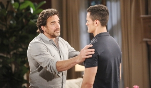 Ridge advises Thomas on Bold and Beautiful
