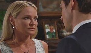 Adam asks Sharon to help on Young and Restless