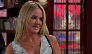 Sharon encounters Chelsea Young and Restless