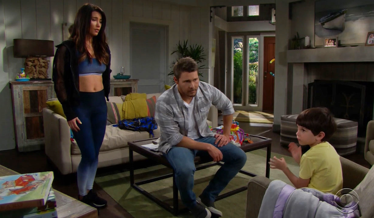 Steffy Liam and Douglas Bold and Beautiful