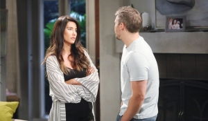 Steffy answers Liam's questions Bold and Beautiful