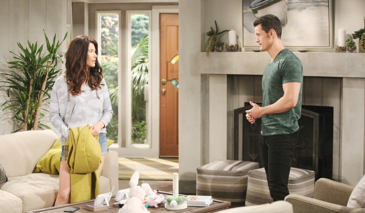 Steffy confronts Thomas on Bold and Beautiful