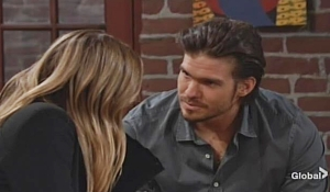 Theo romances Summer Young and Restless