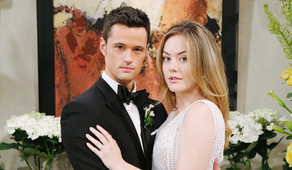 Thomas and Hope's short-lived wedding on Bold and Beautiful