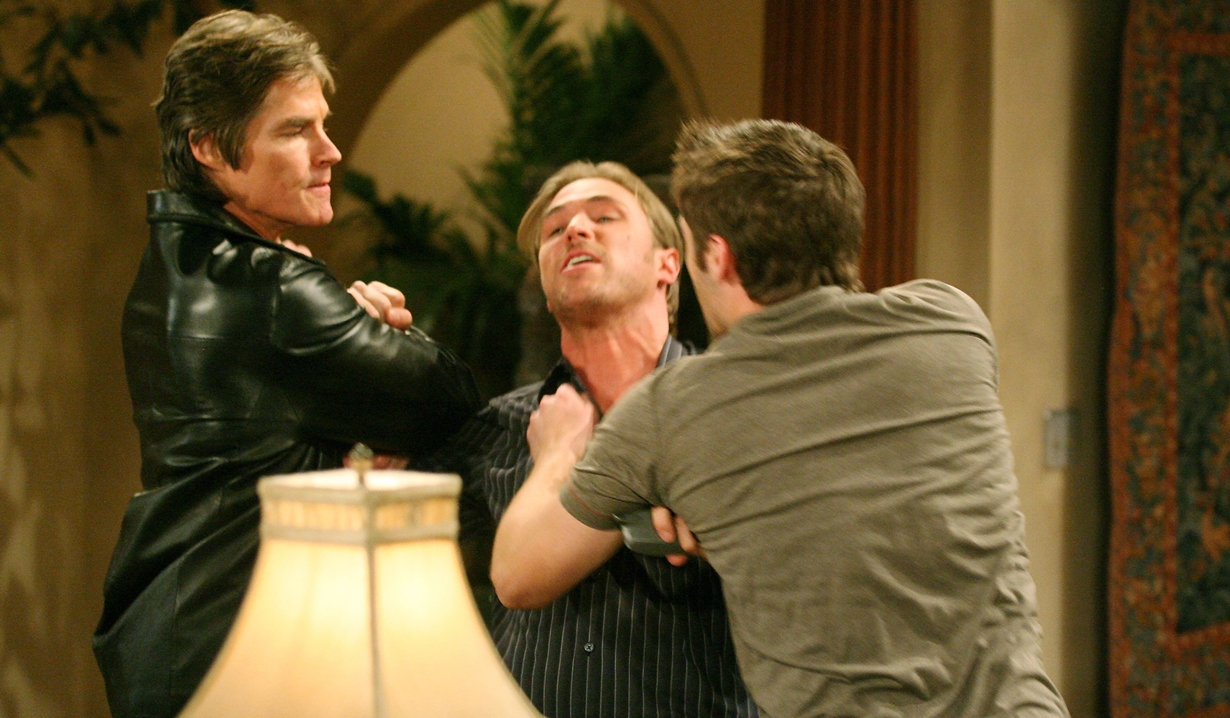Thomas and Rick feud on Bold and Beautiful