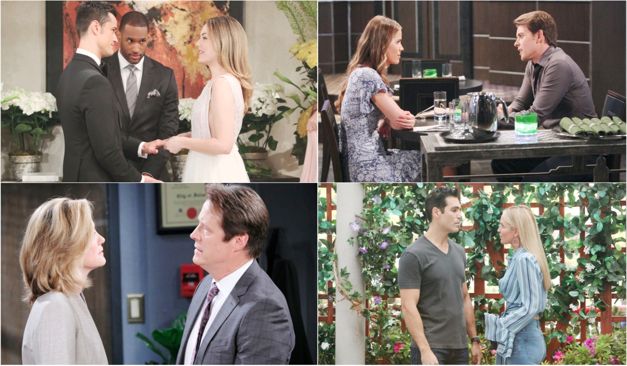 7-22-19 spoilers for bold and beautiful days of our lives general hospital young and restless
