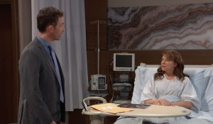 Valentin and Obrecht talk on General Hospital