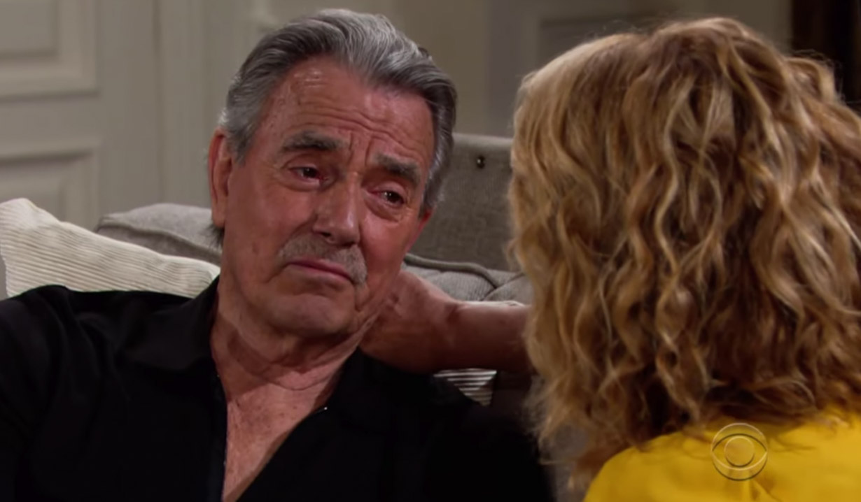 Victor is ill on Young and the Restless