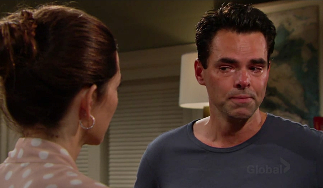 Billy spirals on Young and Restless