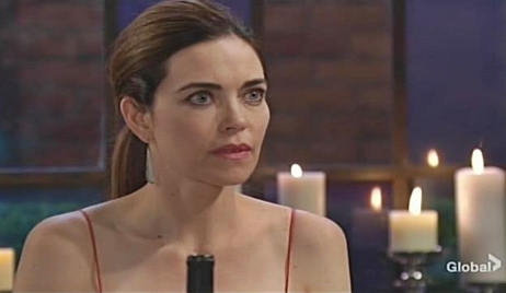 Victoria stunned at dinner Young and Restless