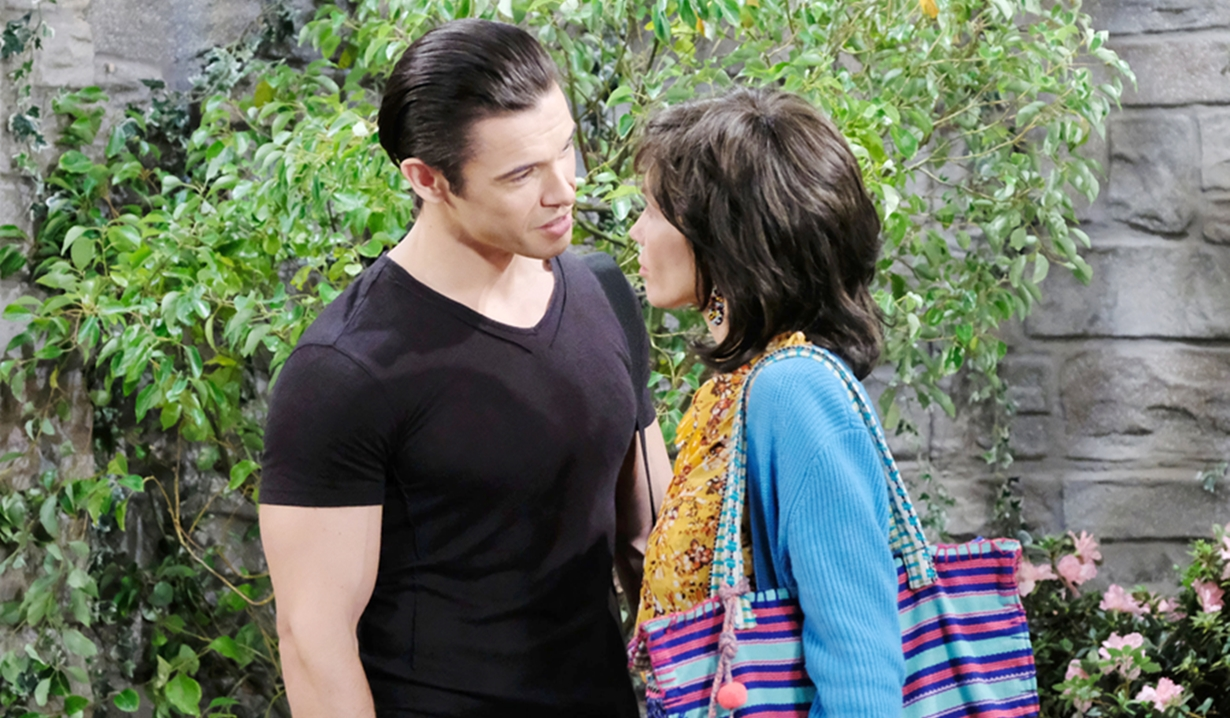 Xander taunts Kristen as Susan on Days of our Lives