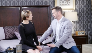 fauxnicole & brady in her bed days of our lives