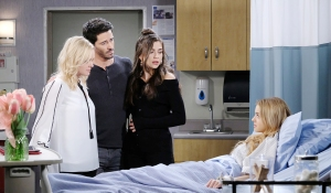 claire hospital with parents days of our lives