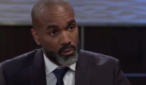 Curtis meets with Valentin at the Metro Court on General Hospital