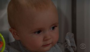 douglas looks at baby beth on bold and beautiful