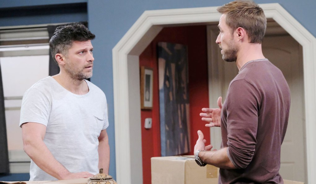 eric and rex at apartment on days of our lives