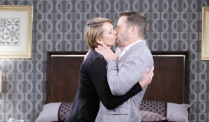 fake nicole kissing brady days of our lives