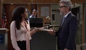 Jordan and Mac at the PCPD on General Hospital