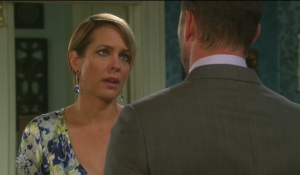 Fake Nicole pleads with Brady on Days of our Lives