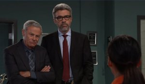 Robert and Mac question Harmony on General Hospital