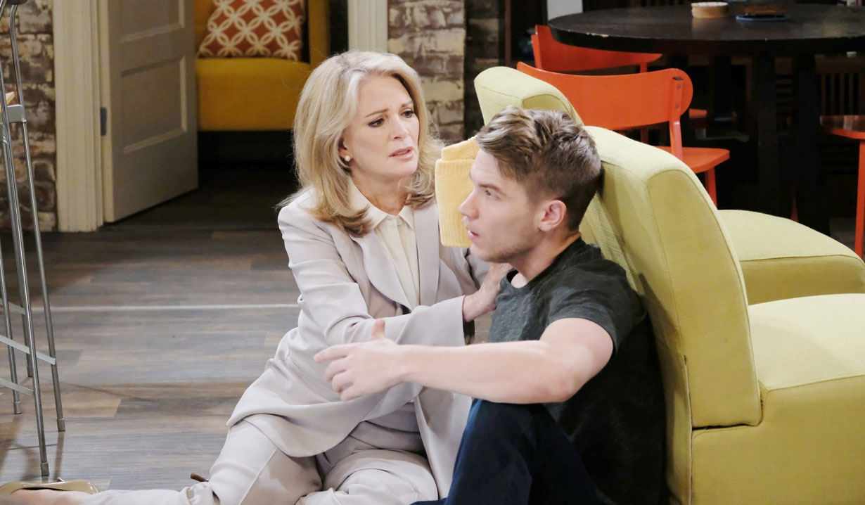 Marlena comforts Tripp Days of our Lives