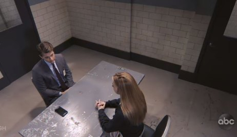 nelle has a confession for michael about their son on general hospital
