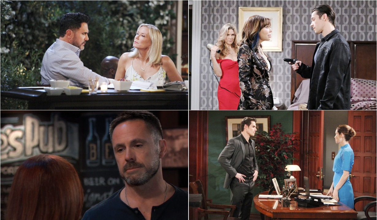 bold and beautiful days of our lives general hospital young and the restless roundup July 1