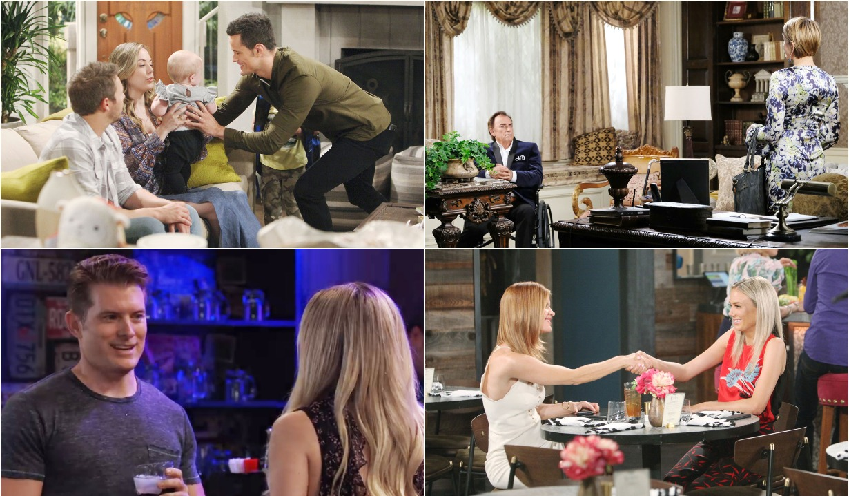 bold and beautiful days of our lives general hospital young and the restless roundup July 29