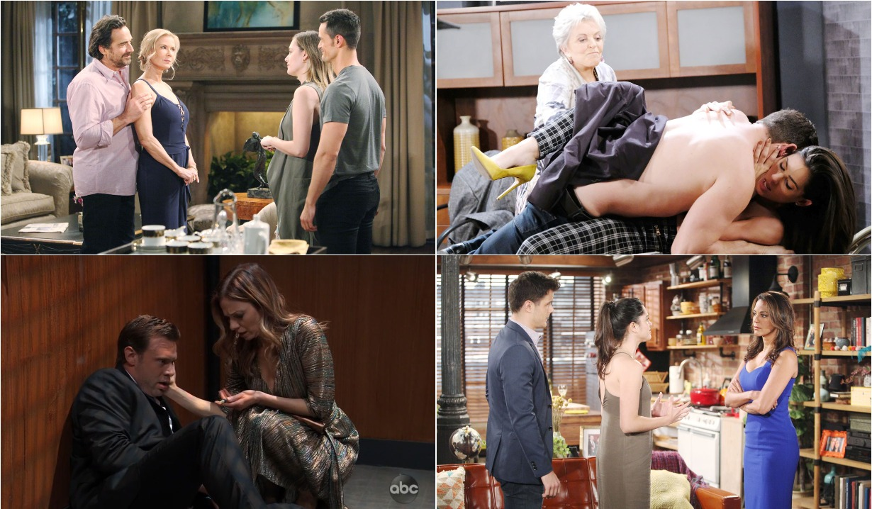 bold and beautiful days of our lives general hospital young and the restless roundup July 15