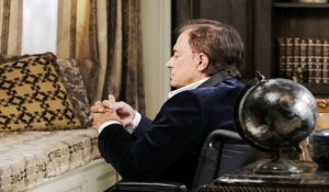 Tony in a wheelchair on Days of our Lives