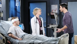 Tripp Kayla and Shawn in hospital on Days of our Lives