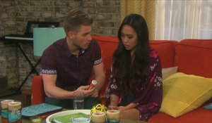 Tripp gives Haley pills on Days of our Lives