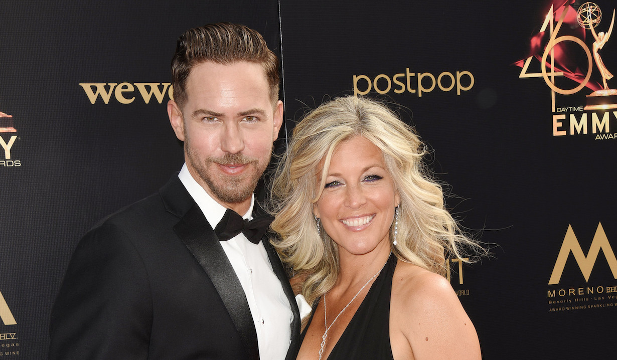 Wes Ramsey and Laura Wright of General Hospital