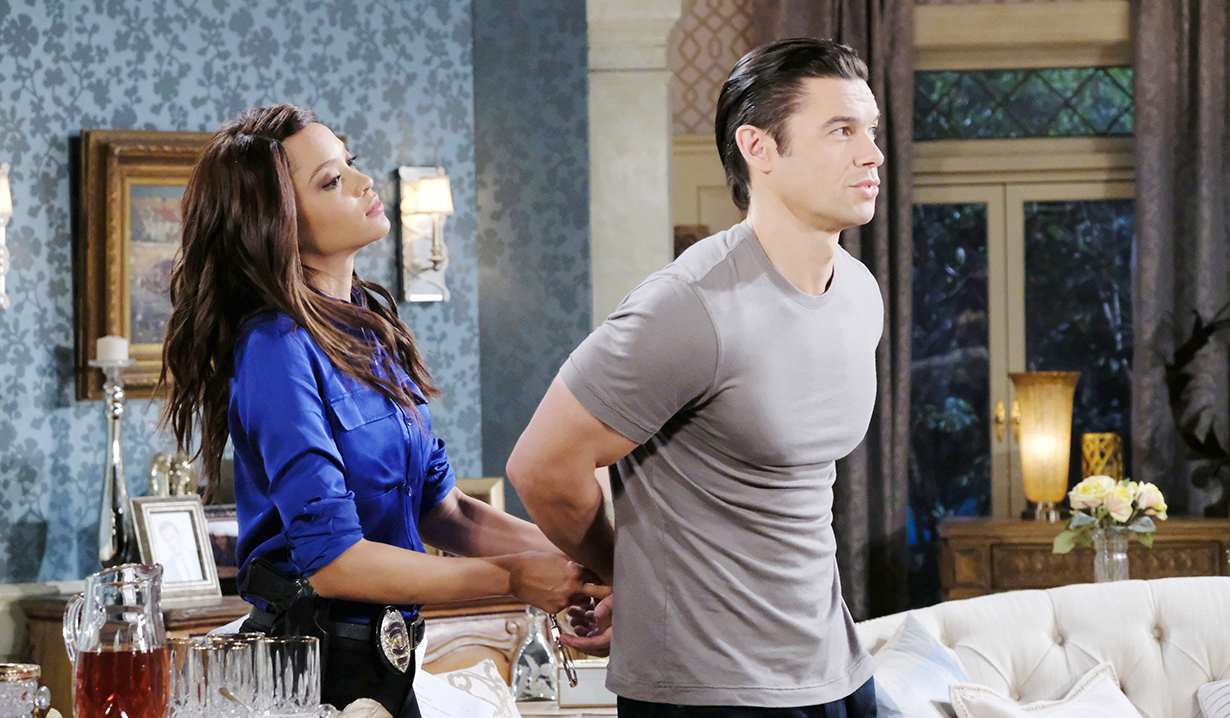 xander arrested by lani days of our lives