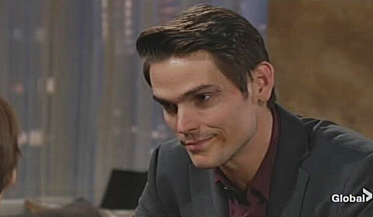 Adam reunites with Connor Young and Restless