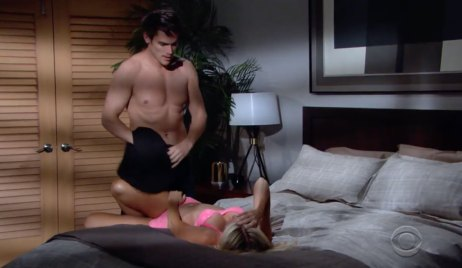 Adam and Sharon on Young and the Restless