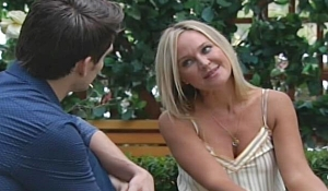 Sharon reacts to proposal Young and Restless
